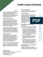 For Health Consumers - Campylobacteriosis Fact Sheet
