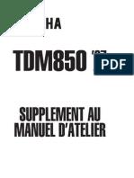 TDM850 1197 4TX-AF2supplementManuel