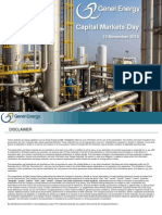 Genel Energy Plc - Capital Markets Day Presentation