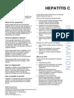 Hepatitis C Fact Sheet (July 2014)