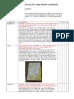 Reflectieformulier Beeldend Onderwijs Laatste (Automatisch Opgeslagen)