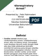 Cardiorespiratory Arrest
