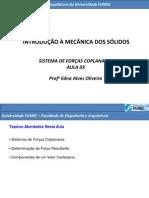 Sitema de Forças Coplanares_aula 3