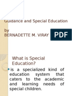 Guidance and Special Education 1