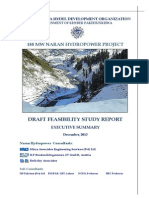 Draft Feasibility Study Report of 188 Mw Naran Hydropower Project