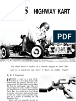 Highway Kart by Mechanix Illustrated