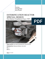 Esterification Reactor Special Design