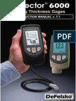PosiTector 6000 Full Manual 7.1