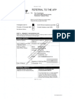 AFP referral documents