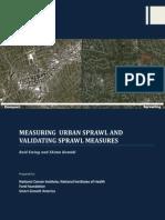 Sprawl Report