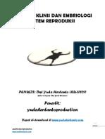 Anatomi Klinis Dan Embriologi Sistem Reproduksi.yudaherdantoproduction