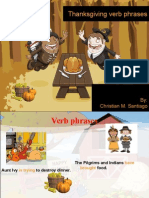 Thanksgiving Helping Verbs