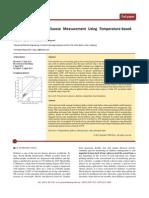 Non-Invasive Blood Glucose Measurement Using Temperature -Based