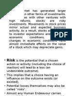 Risk Return