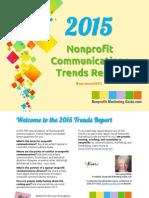 2015 Nonprofit Communications Trends