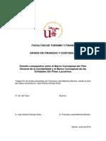 Estudio comparativo entre el Marco Conceptual del Plan General de la Contabilidad y el Marco Conceptual de las Entidades Sin Fines Lucrativos