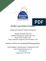 Rfp Website-2014 South Lane