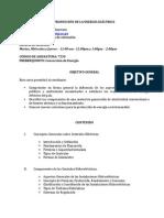 TEMARIO Produccion de Energia Electrica DraJessicaGuevara