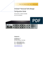 AX Series™ Advanced Traffic Manager Configuration Guide