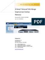 AX Series™ Advanced Traffic Manager Graphical User Interface Reference