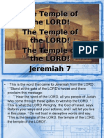 2010_01_17Sunday Sermon -Temple of the Lord - Jeremiah7