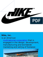 Nike Corporation Powerpoint