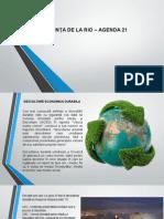 Conferinta de La Rio - Agenda 21
