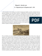 La España romántica del siglo XIX