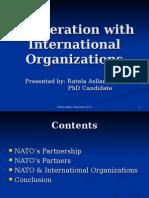 Cooperation With International Organization (1)
