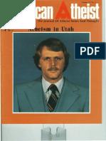 American Atheist Magazine Jan 1980