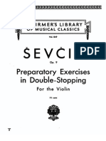 Sevcik Double Stopping