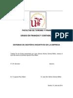 Sistemas de gestión e incentivos en la empresa