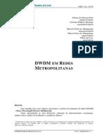 Dwdm Redes Metropolitanas1