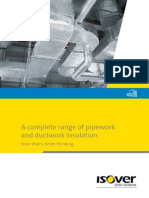 A Complete Range of Pipework and Ductwork Insulation 1301