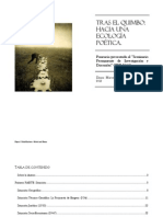 2012.11.14.Tras El Quimbo. Hacia Una Ecología Poética