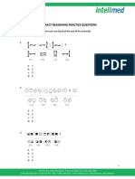 Practice Questions Abstract Reasoning