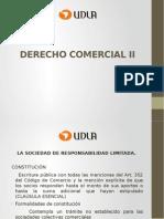 Derecho Comercial II Udla Sociedad de Responsabilidad Limitada y en Comandita Cuentas en Participación y Anónimas
