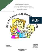 impacto social en la familia y escuela