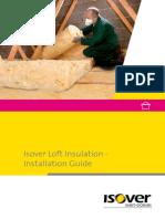 Isover Loft Top Insulation Installation Guide