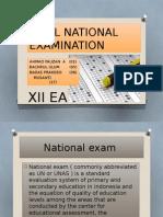 Final National Examination