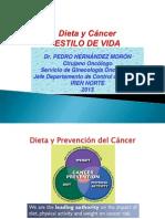 Dieta y Cáncer Dr. HERNÁNDEZ Abr 2014