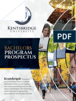 Kentsbridge Bachelors Degree Program Brochure
