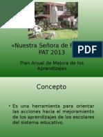 Plan de Mejora 2014