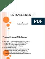 Entanglement I 13