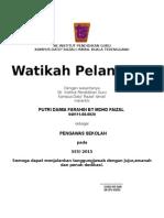 format sijil Watikah Lantikan Pengawas