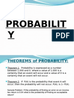 Probability stats