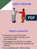 preparing a resume-6