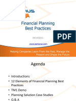 Best Practices in Financial Planning
