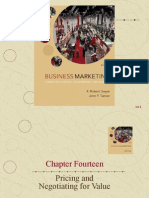Chapter Fourteen Pricing and Negotiating for Value