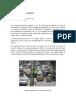 Situacion Actual Del Parque Automotor de Chiclayo